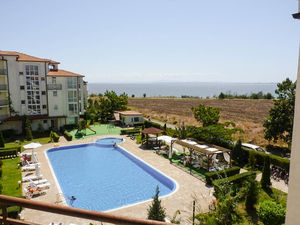 1-bedroom apartment with SEA views in Rutland Beach 1, Ravda