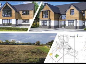 Building plot/land, PP 5 bed house