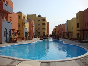 Furnished 2 beds in Al Dora Residences
