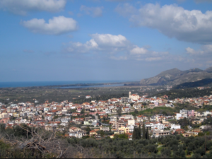 Holiday Land by the Sea in Peloponnese with olive trees - Re