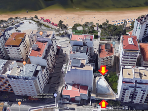Algarve - Land for High Construction - beach view