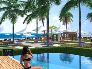 BEACH FRONT VILLAS WITH PRIVATE INFINITY POOL,BOGAZ