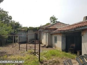 Cottage with land close to sea. 318 Euros a month