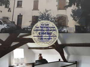 For sale two terraced houses