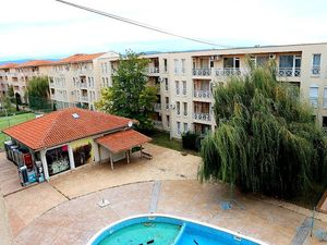 Bargain, furnished 1-bedroom apartment  in Sunny beach