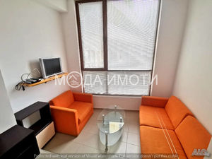 Spacious and furnished studio in Sunny beach. Low HOA fee