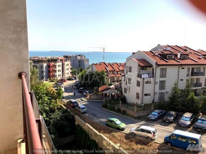 Spacious studio with sea views in Saint Vlas!