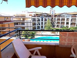 Spaciously furnished studio with sea views in Saint Vlas!