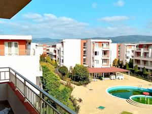 Spacious one-bedroom apartment, new, Sunny beach