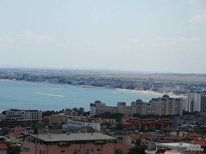 One bedroom apartment in Saint Vlas with panoramic sea view