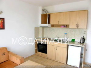 Furnished one-bedroom apartment with sea view in Saint Vlas!