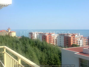 One-bedroom apartment with panoramic sea views in Saint Vlas