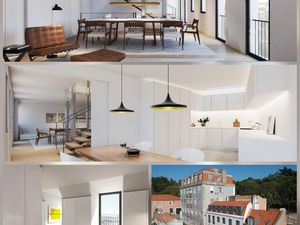 Plot with Riverview for Construction T4+T1 in Lisbon, PT