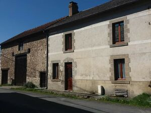 Charming terraced stone house in the Creuse, France