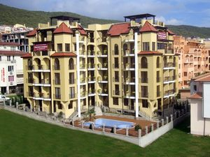One-bed apartment 100 m from the beach in Sveti Vlas, Burgas
