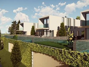 Luxury Triplex Villas In Istanbul With Sea View and Pool
