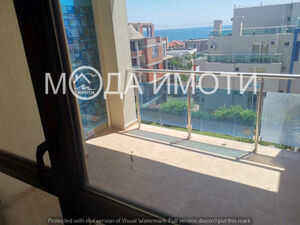 Sea view!One bedroom apartment 2 minutes walk from the beach
