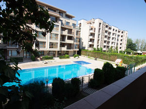Pool View Furnished 2-bedroom apartment in Balkan Breeze 2