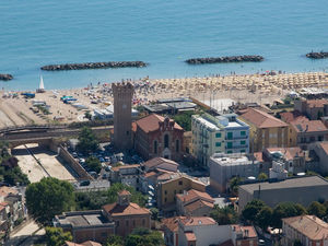Panoramic Apartment Marche - Green hill & Adriatic beaches