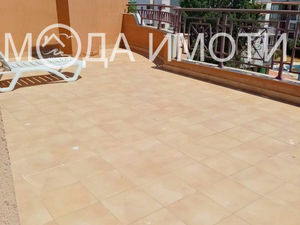 2bedroom apartment with a huge terrace in Sunny Beach