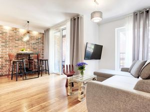 Industrial apartment in the historical centre of Krakow