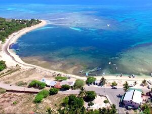 Great beach land lot for sale, Dominican Republic.