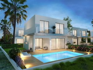 Modern and New 3 Bedroom Villa meters from the Beach