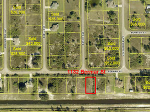 1/4 Acre Ready To Build In Ft. Myers, FL $7,850USD!!