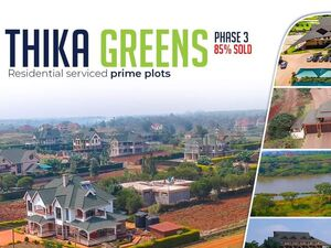 Prime residential plots in Thika greens 100*100 .
