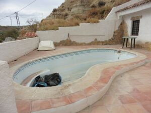 Two cave houses with a pool. SAL254.