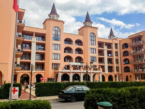 Furnished 1-bedroom apartment in Aparthotel Palazzo****