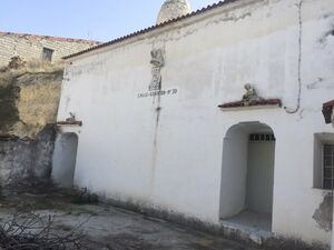Partially renovated cave house SAL135