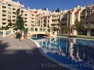Two Bed Beach front apartment in Varna South Bay Residence