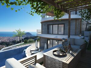 ULTRALUX TRIPLEX WITH SEA VIEW UNDER CONSTRACTİON
