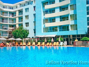 1 bedroom apartment in Sunny Beach 100 meters from the beach