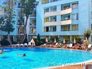 2 bedroom apartment in Sunny Beach 100 meters from the beach