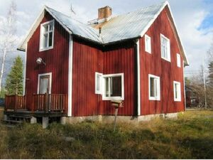 House, garage shed and garden Storsund in Norrbotten,