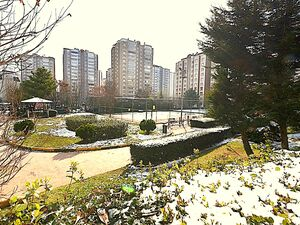 4+1 apartment at center residencial