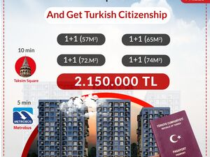 TURKEY CITIZENSHIP BY REAL ESTATE INVESTMENT (TURKISH PASS.)