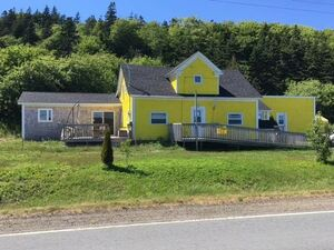 Water view home with steady income.Nova Scotia.COVID free