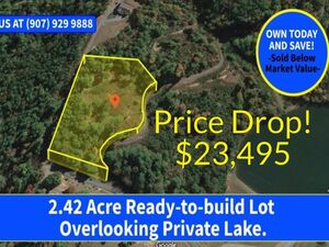 Own your own SUNSET LAKE VIEW on this 2.42 Acre!