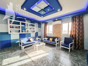Furnished 2 bedroom apartment in a ready compound