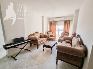 Furnished 2 bedroom apartment on a higher floor