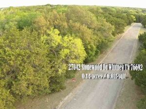 Sunny, private a White Bluff Vacant Lot - Whitney TX 76692
