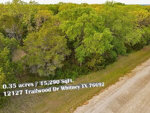 Wooded Vacant Lot with Lake Access – Whitney TX 76692