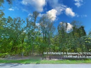 Private and Peaceful Wooded Acreage in Splendora!