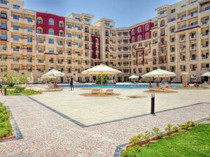Furnished studio in a ready compound