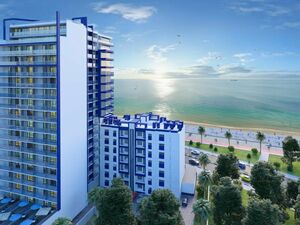 Palm residence - turn key apartment with sea view