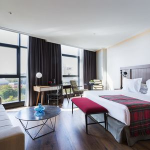 Package offer of two four star hotels in Spain.