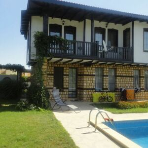 Two-storey, furnished house 7 km from the sea